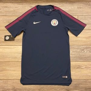 NIKE DRI-FIT MANCHESTER CITY SOCCER JERSEY SMALL